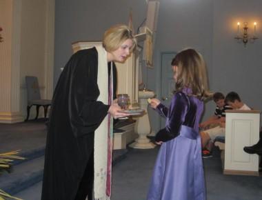 perjamuan kudus anak