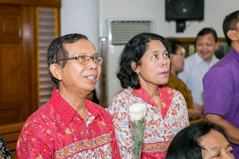Ibadah Penutupan Bulan Keluarga 2014