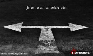 Jalan Lurus Stop Korupsi