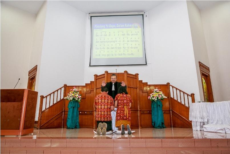 Penutupan BMG & Baptis Anak